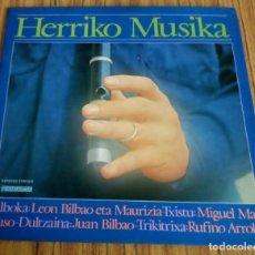 Discos de vinilo: HERRIKO MUSIKA . Lote 195316998