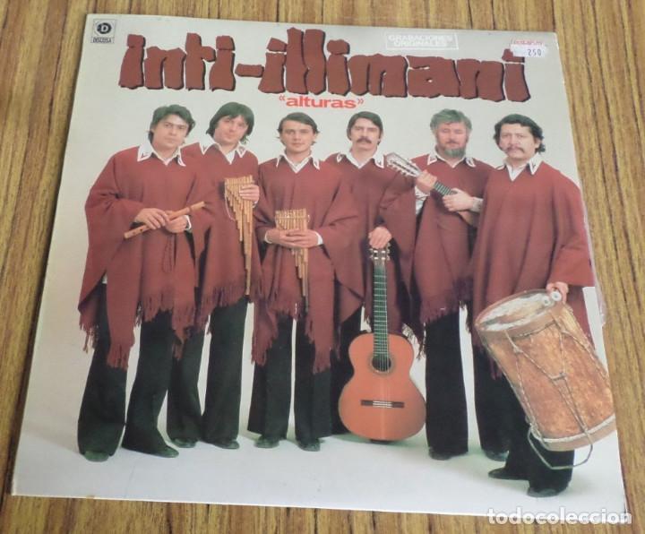 INTI ILLIMANI -- ALTURAS (Música - Discos - LP Vinilo - Grupos y Solistas de latinoamérica)