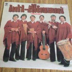 Discos de vinilo: INTI ILLIMANI -- ALTURAS . Lote 195318408