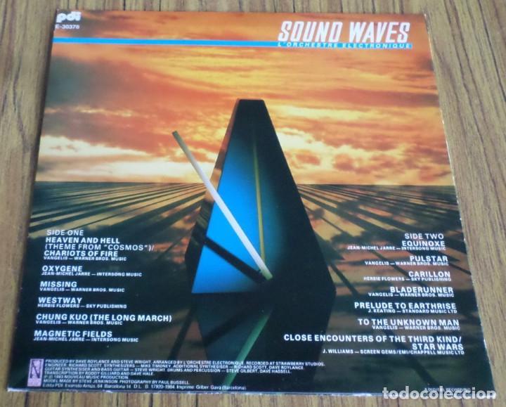 Discos de vinilo: SOUND WAVES -- L´orchestre electronique - Foto 2 - 195319075