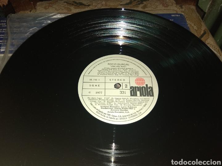 Discos de vinilo: Vinilo Rocío Dúrcal - Una Vez Más - 1977 - - Foto 5 - 195319101