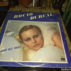 Discos de vinilo: VINILO ROCÍO DÚRCAL - UNA VEZ MÁS - 1977 -. Lote 195319101