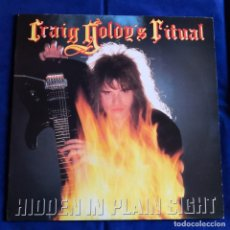 Discos de vinilo: LP CRAIG GOLDY`S RITUAL HIDDEN IN PLAIN SIGHT CASI NUEVO. Lote 195320550