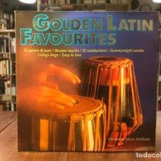 Discos de vinilo: GOLDEN LATIN FAVOURITES. Lote 195320715