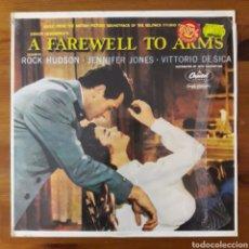 Discos de vinilo: ADIÓS A LAS ARMAS (A FAREWELL TO ARMS) MARIO NASCIMBENE. Lote 195320812