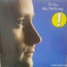 Discos de vinilo: PHIL COLLINS - HELLO, I MUST BE GOING! - EDICIÓN ALEMANA 1982 - BUEN ESTADO + ENCARTE DOBLE PORTADA. Lote 195322663