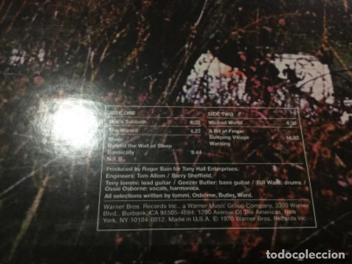 Discos de vinilo: Black Sabbath . Reedición. USA - Foto 6 - 195324323