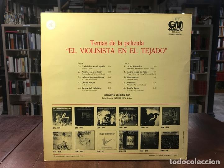 Discos de vinilo: El violinista en el tejado - Foto 2 - 195324440