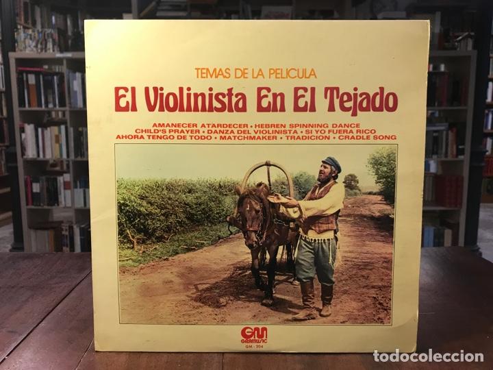 EL VIOLINISTA EN EL TEJADO (Música - Discos - LP Vinilo - Clásica, Ópera, Zarzuela y Marchas)