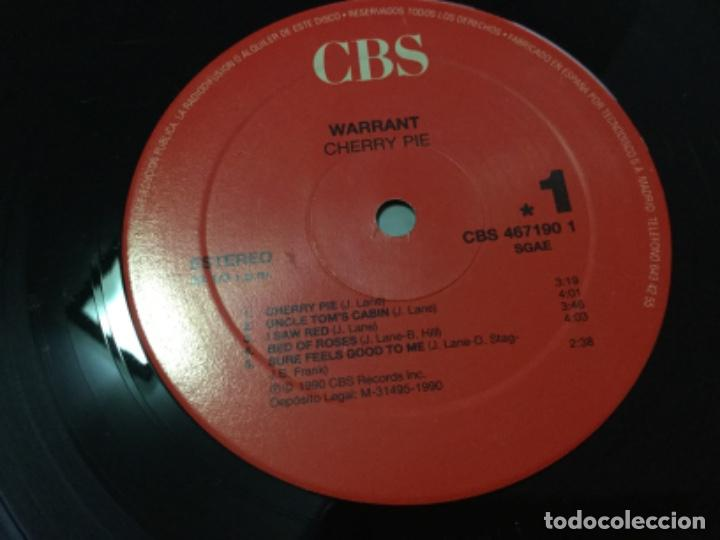 Discos de vinilo: Warrant - cherry pie - Foto 4 - 195324535