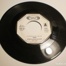 Discos de vinilo: SINGLE (SÓLO EL DISCO) TRIANA. TU FRIALDAD. CAUDALOSO RÍO. MOVIE PLAY 1980 SPAIN (PROBADO Y BIEN). Lote 195324607