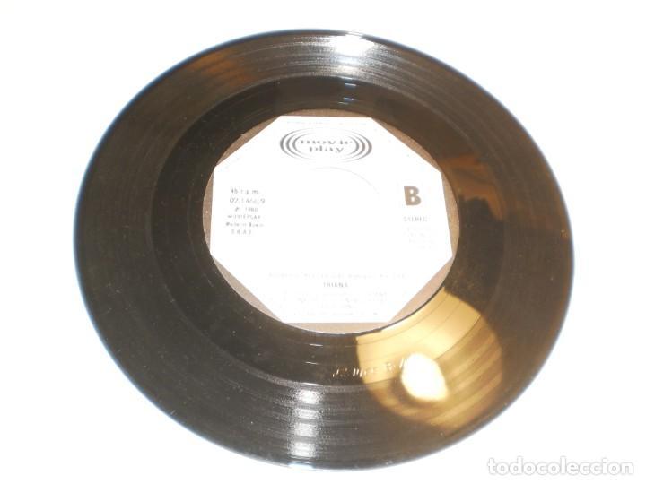 Discos de vinilo: single (sólo el disco) triana. tu frialdad. caudaloso río. movie play 1980 spain (probado y bien) - Foto 2 - 195324607