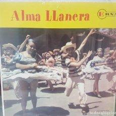 Discos de vinilo: ALMA LLANERA - CANTA RAFAEL MONTAÑO - CARATULA PERFECTA CON PLÁSTICO PRECINTO ORIGINAL - VENEZUELA. Lote 195325473