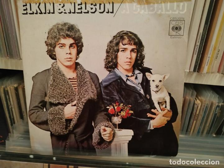 ELKIN & NELSON - A CABALLO (Música - Discos - Singles Vinilo - Flamenco, Canción española y Cuplé)