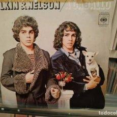 Discos de vinilo: ELKIN & NELSON - A CABALLO. Lote 195325985