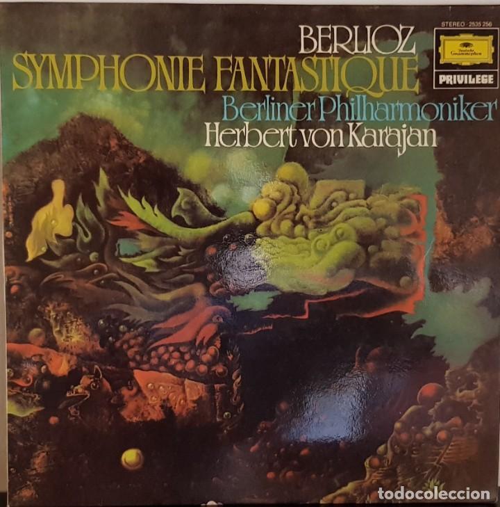BERLIOZ- SYMPHONIE FANTASTIQUE OP 14 - EPISODIO DE LA VIDA DEL ARTISTA - 1981 (Música - Discos - LP Vinilo - Clásica, Ópera, Zarzuela y Marchas)