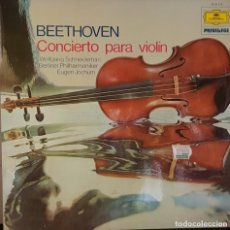 Discos de vinilo: BEETHOVEN CONCIERTO PARA VIOLIN EN RE MAYOR OP. 61 - 1975. Lote 195327052