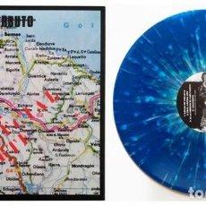 Discos de vinilo: ESKORBUTO / R.I.P. - ZONA ESPECIAL NORTE - BLUE SPLATTERED VINYL REISSUE + 20 PAGE BOOKLET. Lote 195327157
