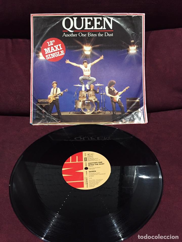 "QUEEN - ANOTHER ONE BITES THE DUST, MAXI-SINGLE 12"", 1980, ALEMANIA (Música - Discos de Vinilo - Maxi Singles - Pop - Rock - New Wave Extranjero de los 80)"