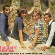 Discos de vinilo: LAS CUATRO MONEDAS - SINGLE 971. Lote 195328485