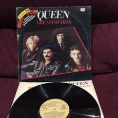 Discos de vinilo: QUEEN - GREATEST HITS LP, RECOPILATORIO, 1982, ESPAÑA, EDICIÓN DIFÍCIL. Lote 195329765