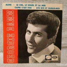 Discos de vinilo: GEORGIE DANN - ALINE + 3 - EP EMI LA VOZ DE SU AMO DEL AÑO 1965 EN EXCELENTE ESTADO. Lote 195332417