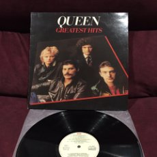 Discos de vinilo: QUEEN - GREATEST HITS LP, RECOPILATORIO, REEDICIÓN, ESPAÑA. Lote 195332902