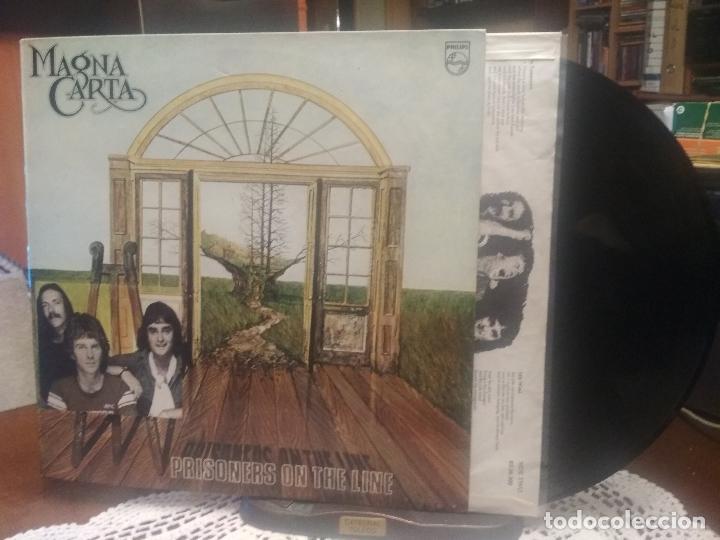 MAGNA CARTA PRISONERS OF THE LINE LP SPAIN 1978 PEPETO TOP (Música - Discos - LP Vinilo - Country y Folk)
