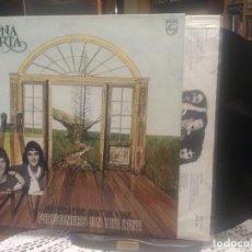 Discos de vinilo: MAGNA CARTA PRISONERS OF THE LINE LP SPAIN 1978 PEPETO TOP. Lote 195333196