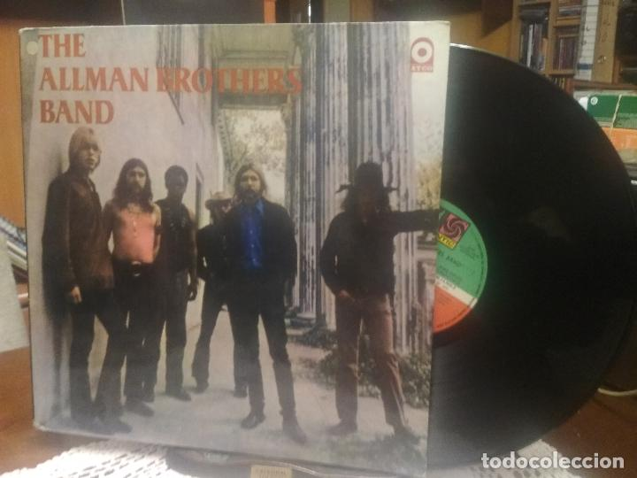 THE ALLMAN BROTHERS BAND THE ALLMAN BROTHERS BAND LP ARGENTINA 1973 PEPETO TOP (Música - Discos - LP Vinilo - Pop - Rock - Internacional de los 70)