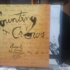 Discos de vinilo: COUNTING CROWS AUGUST AND EVERYTHING AFTER LP HOLANDA 1993 PEPETO TOP. Lote 195333635