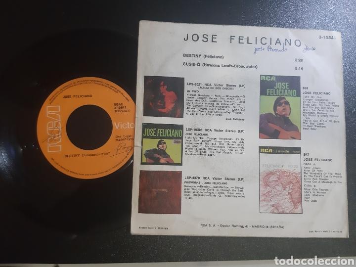 Discos de vinilo: JOSE FELICIANO, SUSIE-Q. 1970. RCA. - Foto 2 - 195334093