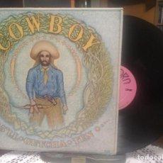 Discos de vinilo: COWBOY 5' LL GETCHA TEN …. LP USA 1971 PEPETO TOP . Lote 195334206