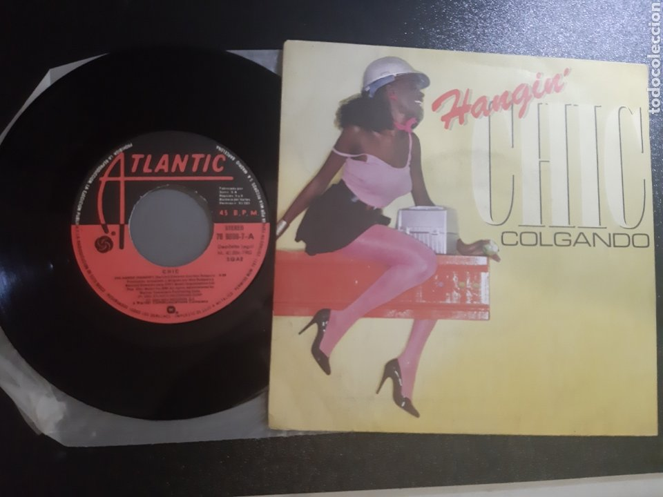 Discos de vinilo: HANGIN CHIC. COLGADOS, CHIC. 1980. ATLANTIC - Foto 2 - 195334413