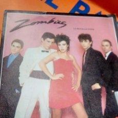 Discos de vinilo: LOS ZOMBIS .SINGLE . Lote 195334825