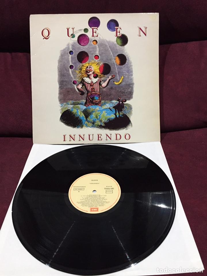QUEEN - INNUENDO LP, 1991, ESPAÑA (Música - Discos - LP Vinilo - Pop - Rock Extranjero de los 90 a la actualidad)
