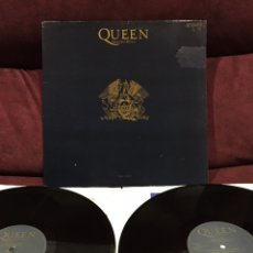 Discos de vinilo: QUEEN - GREATEST HITS II, LP DOBLE GATEFOLD, RECOPILATORIO, 1991, ESPAÑA. Lote 195340018