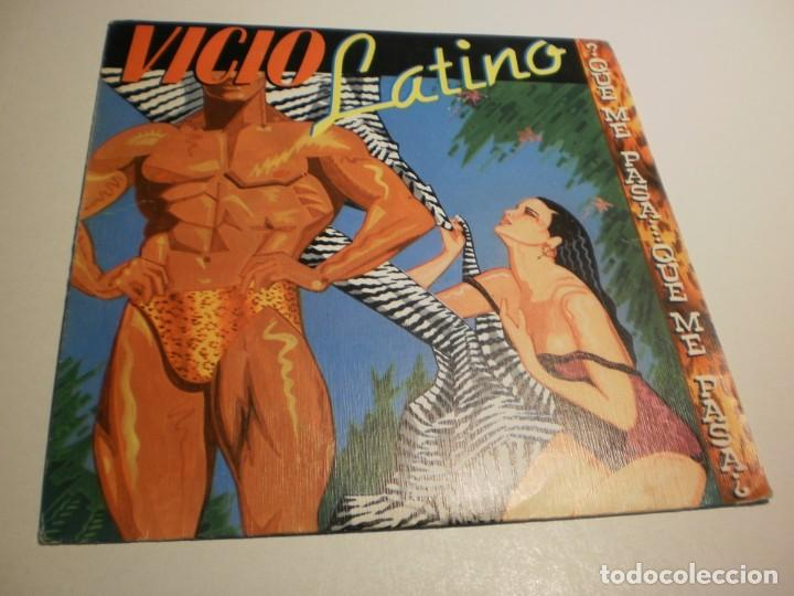 Discos de vinilo: single vicio latino. qué me pasa. epic 1983 spain (probado y bien) - Foto 1 - 195340068