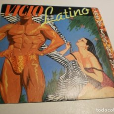 Discos de vinilo: SINGLE VICIO LATINO. QUÉ ME PASA. EPIC 1983 SPAIN (PROBADO Y BIEN). Lote 195340068