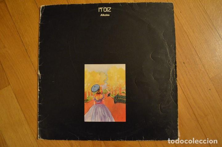 ITOIZ – ALKOLEA 1982 LP VINYL ELK 51 SPAIN (Música - Discos - LP Vinilo - Otros estilos)