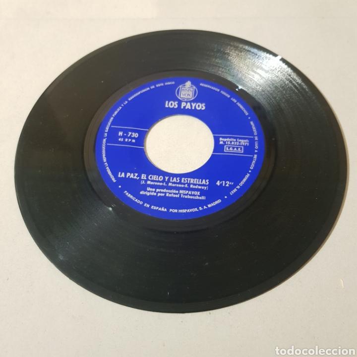 Discos de vinilo: LOS PAYOS - EL CIELO Y LAS ESTRELLAS - LOS ANTICUARIOS - Foto 3 - 195340532