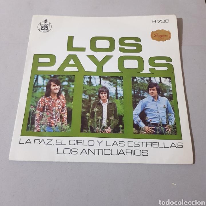 Discos de vinilo: LOS PAYOS - EL CIELO Y LAS ESTRELLAS - LOS ANTICUARIOS - Foto 5 - 195340532