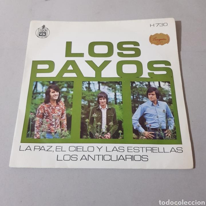LOS PAYOS - EL CIELO Y LAS ESTRELLAS - LOS ANTICUARIOS (Música - Discos - Singles Vinilo - Grupos Españoles de los 70 y 80)