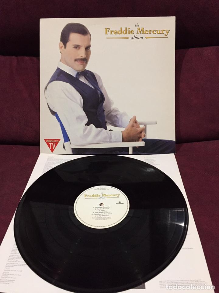 FREDDIE MERCURY - THE FREDDIE MERCURY ALBUM LP, RECOPILATORIO, 1992, ESPAÑA (Música - Discos - LP Vinilo - Pop - Rock Extranjero de los 90 a la actualidad)