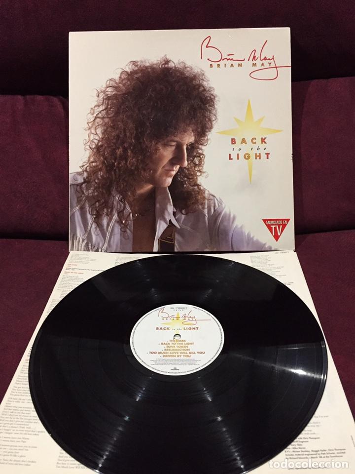 BRIAN MAY - BACK TO THE LIGHT LP, 1992, ESPAÑA (Música - Discos - LP Vinilo - Pop - Rock Extranjero de los 90 a la actualidad)