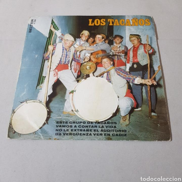 Discos de vinilo: LOS TACAÑOS - ESTE GRUPO DE TACAÑOS - VAMOS A CONTAR LA VIDA - NO LE EXTRAÑÉ EL AUDITORIO - CADIZ - Foto 5 - 195341628