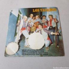 Discos de vinilo: LOS TACAÑOS - ESTE GRUPO DE TACAÑOS - VAMOS A CONTAR LA VIDA - NO LE EXTRAÑÉ EL AUDITORIO - CADIZ. Lote 195341628