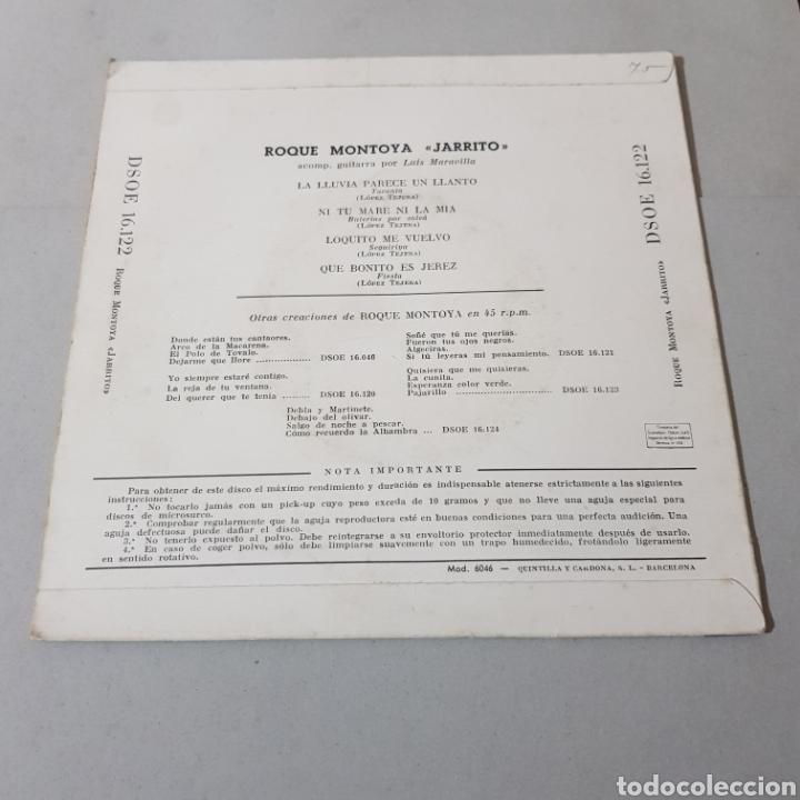 Discos de vinilo: ROQUE MONTOYA ( JARRITO ) CANTE FLAMENCO - Foto 2 - 195342651