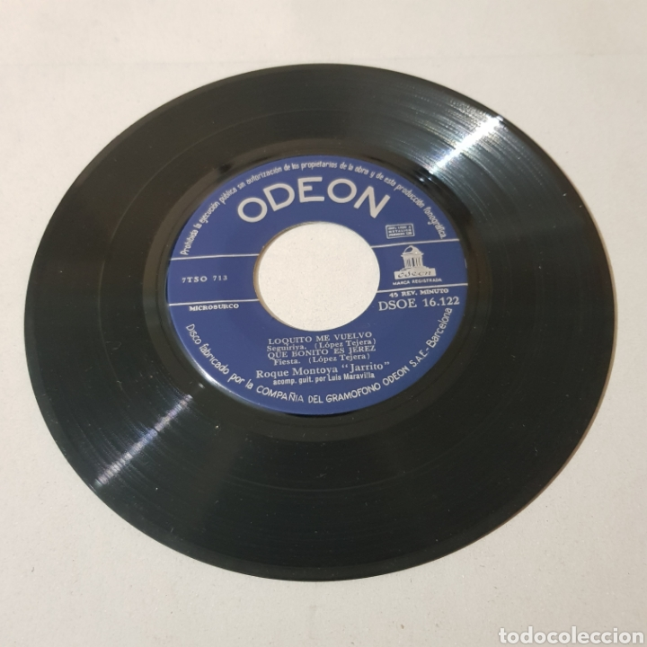 Discos de vinilo: ROQUE MONTOYA ( JARRITO ) CANTE FLAMENCO - Foto 3 - 195342651