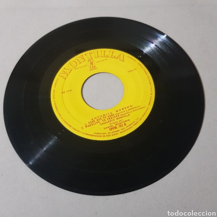 Discos de vinilo: ANTOÑITA MORENO - ORQUESTA MONTILLA - Foto 3 - 195343326